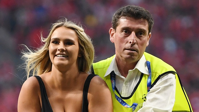 Champions League streaker Kinsey Wolanski says prank will let her retire by 30