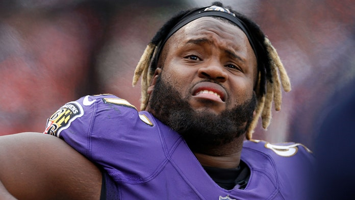Baltimore Ravens' Michael Pierce owns up to poor conditioning after being booted from practice