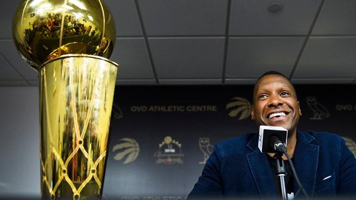 Raptors president 'confident' Leonard will return to champs