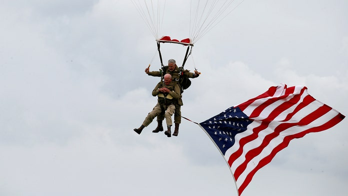 D-Day veteran, 97, parachutes into Normandy 75 years later