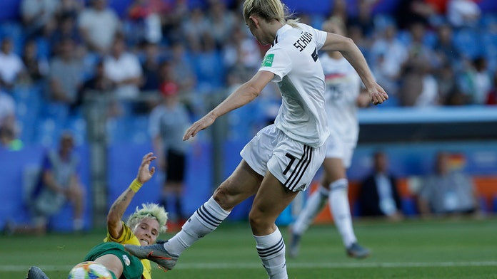 Germany beats South Africa 4-0 to win World Cup group