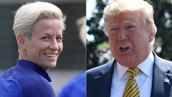 Trump says US soccer star Megan Rapinoe's protest during national anthem is wrong