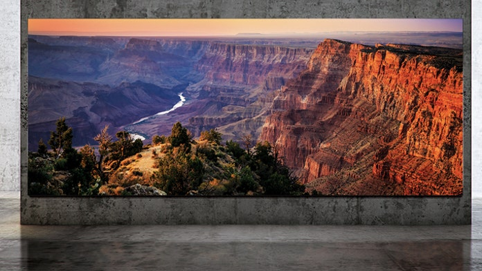 Samsung unveils enormous 292-inch 8K TV 'that you never turn off'