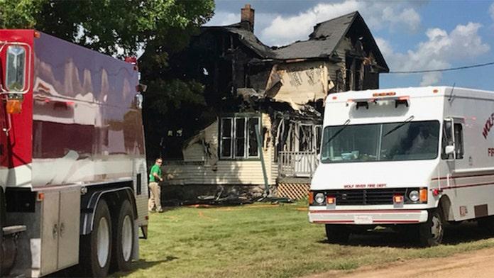 Wisconsin house fire kills 6, including 4 children, investigators say