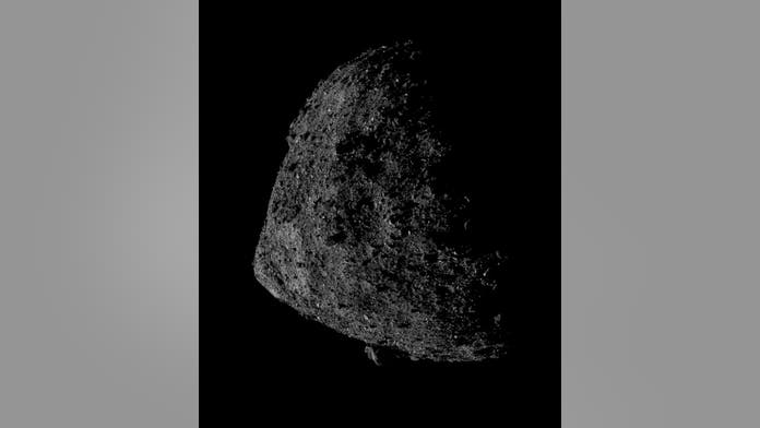 NASA snaps stunning picture of asteroid Bennu from only 0.4 miles away