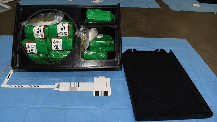 Australia announces record 1.8 ton seizure of crystal meth from Thailand