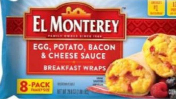 Frozen breakfast burritos recalled after complaints of rocks in product