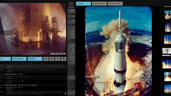 Apollo 11: New website replays first Moon landing mission in real time