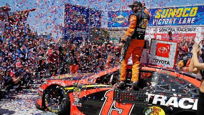 Martin Truex Jr. repeats at Sonoma NASCAR race