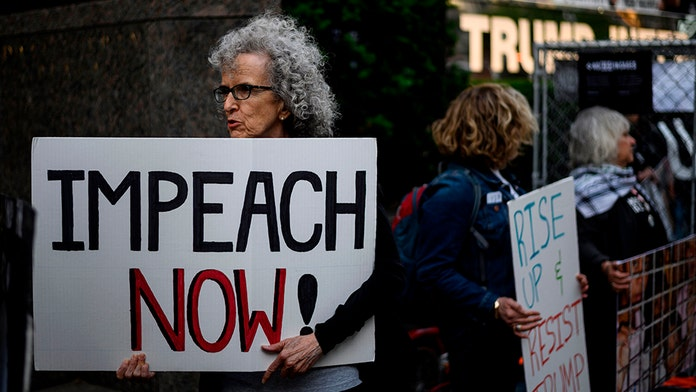 Anti-Trump activists hold rallies across US to call for impeachment