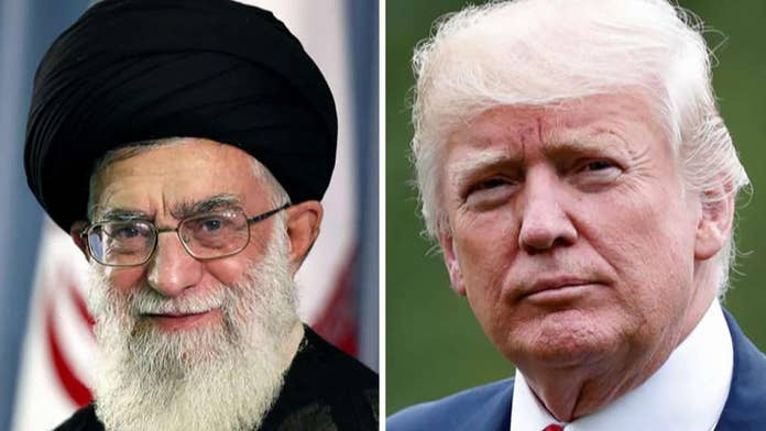 Trump fires back at Iran's 'insulting' statement, warns any attack to be met with 'overwhelming force'