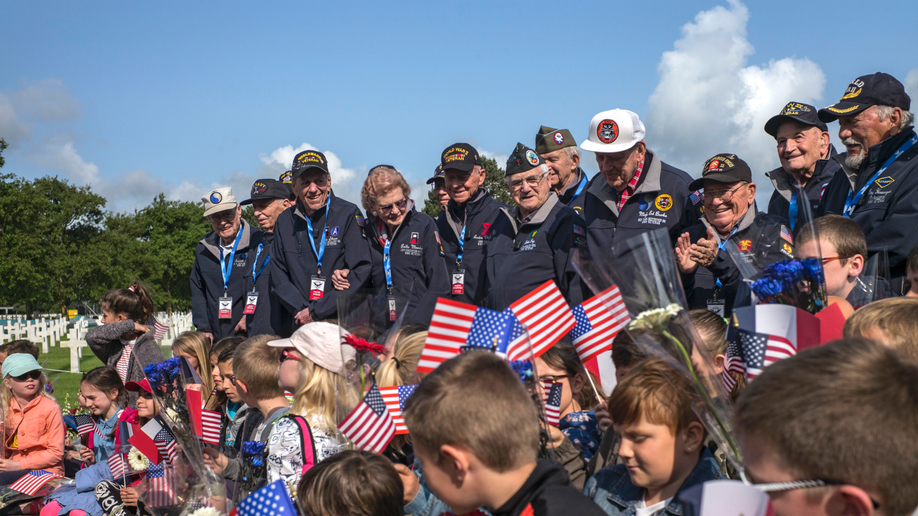 Veterans mark 75 years since D-Day in solemn observances