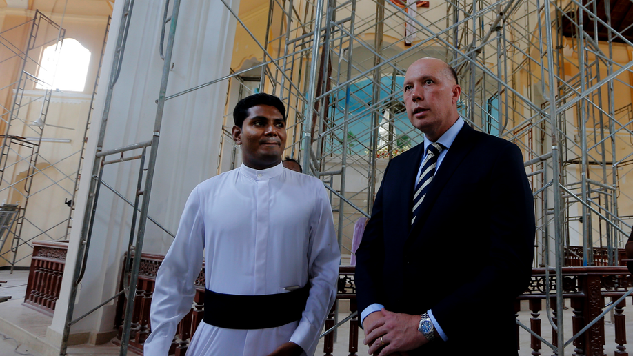 Dutton on flying visit to Sri Lanka