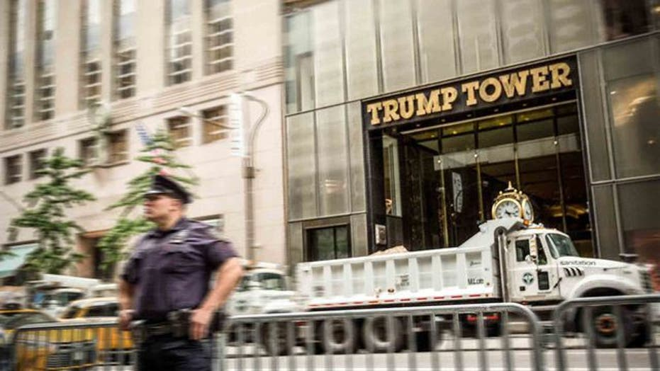 拜登就职后, NYPD to 'reevaluate' Trump Tower security presence