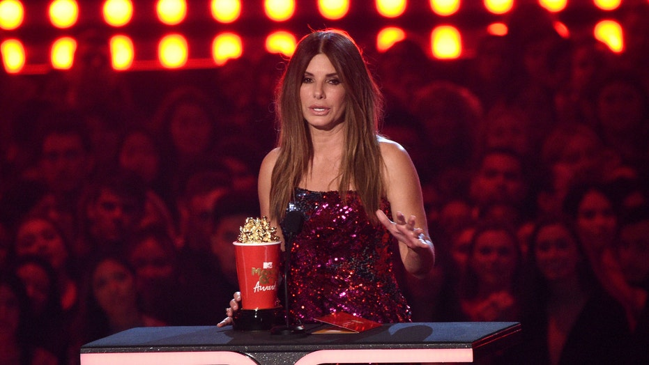 Sandra Bullock reveals she made 'Bird Box' for her kids during MTV