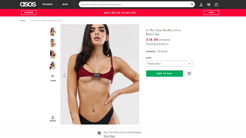 f9f86493bfd5c Skimpy 'micro bikini' from ASOS confuses shoppers: 'When you get ...