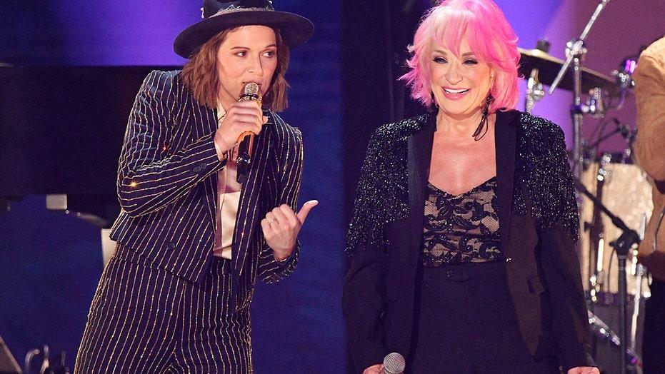 ad8ca8c8576691 CMT Music Awards: Fans call Tanya Tucker's 'Delta Dawn' medley ...