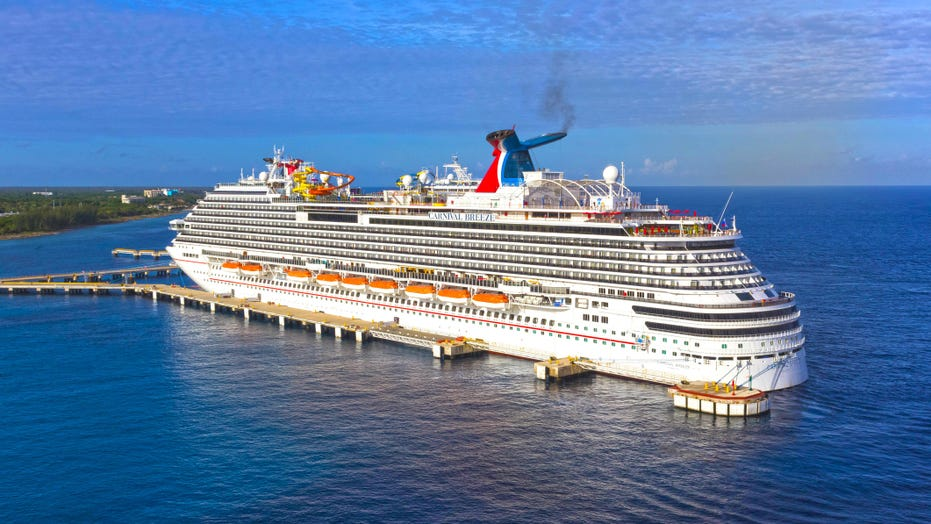 Carnival Cruise Ship Rescues Fishermen Who Were Stuck At