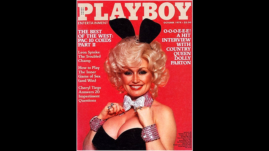 Dolly Parton recreates iconic Playboy cover shoot for husband's birthday: 'He still thinks I'm a hot chick'