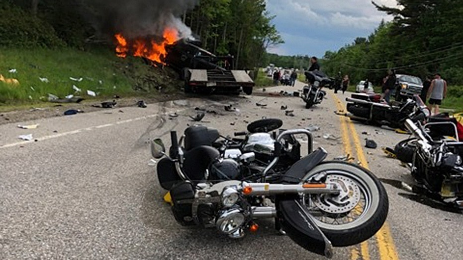New Hampshire highway collision leaves 7 motorcyclists dead, 3