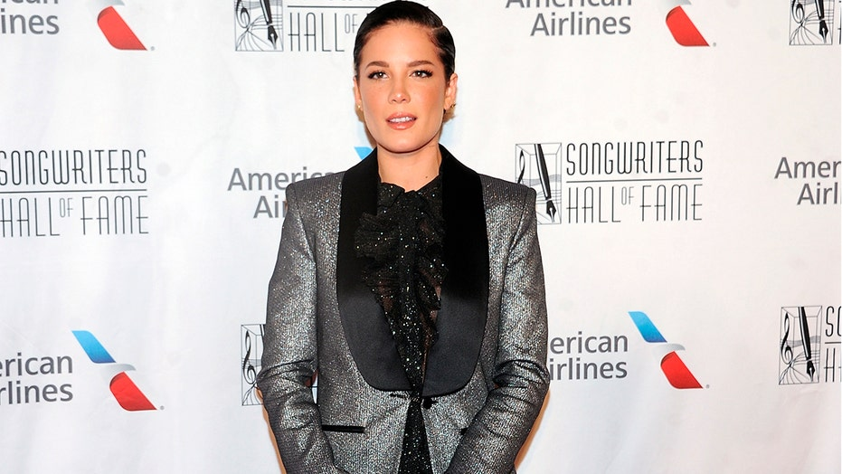 Halsey announces she's pregnant: 'Surprise!'