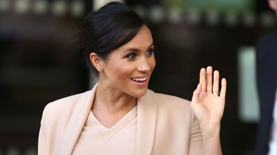 Meghan Markle makes first public appearance after stepping back from royal family