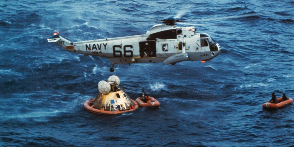 Apollo 11: Former officer on recovery ship USS Hornet