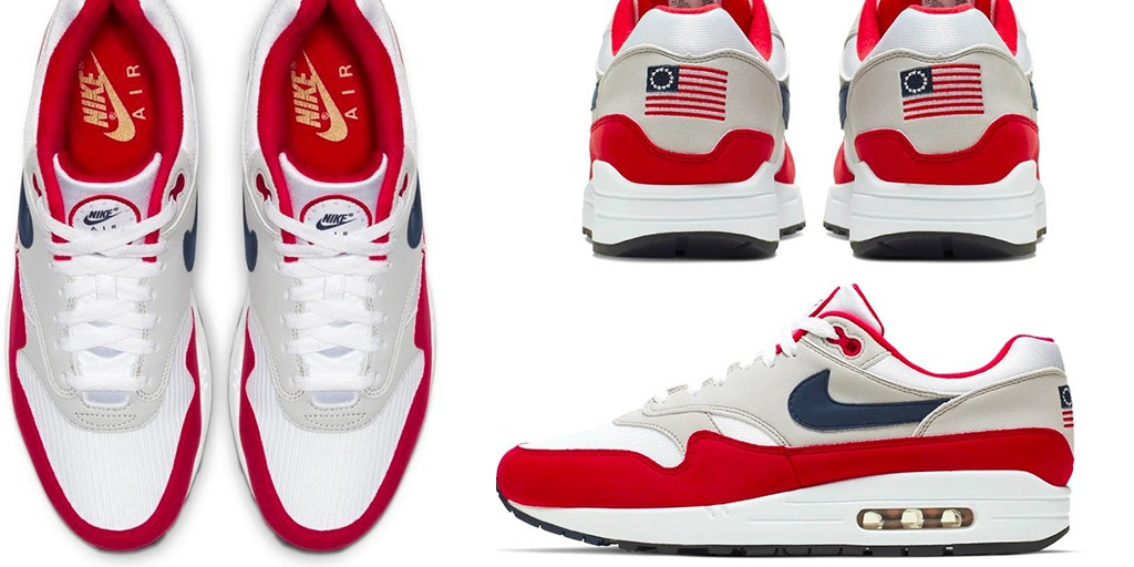 Nike says Betsy Ross themed Fourth of July sneaker was