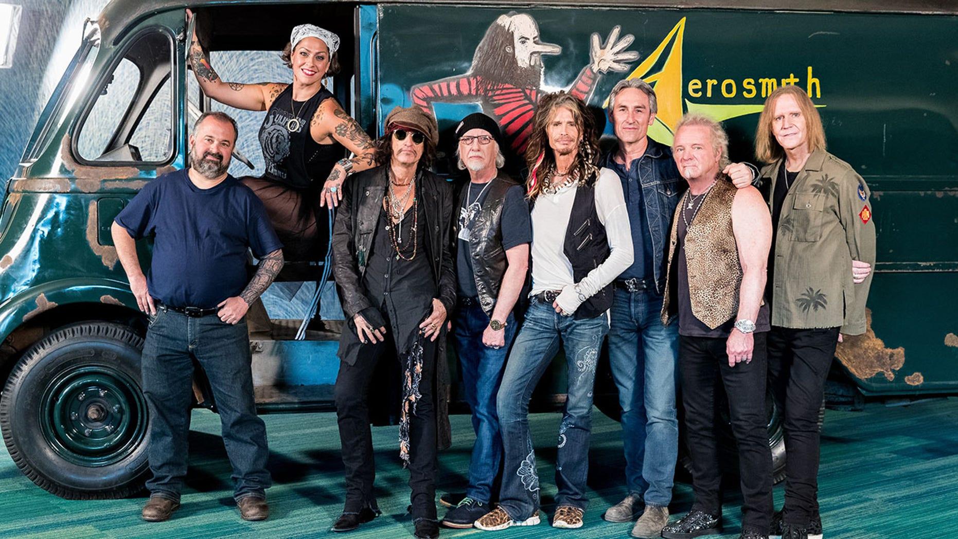 American Pickers and Aerosmith