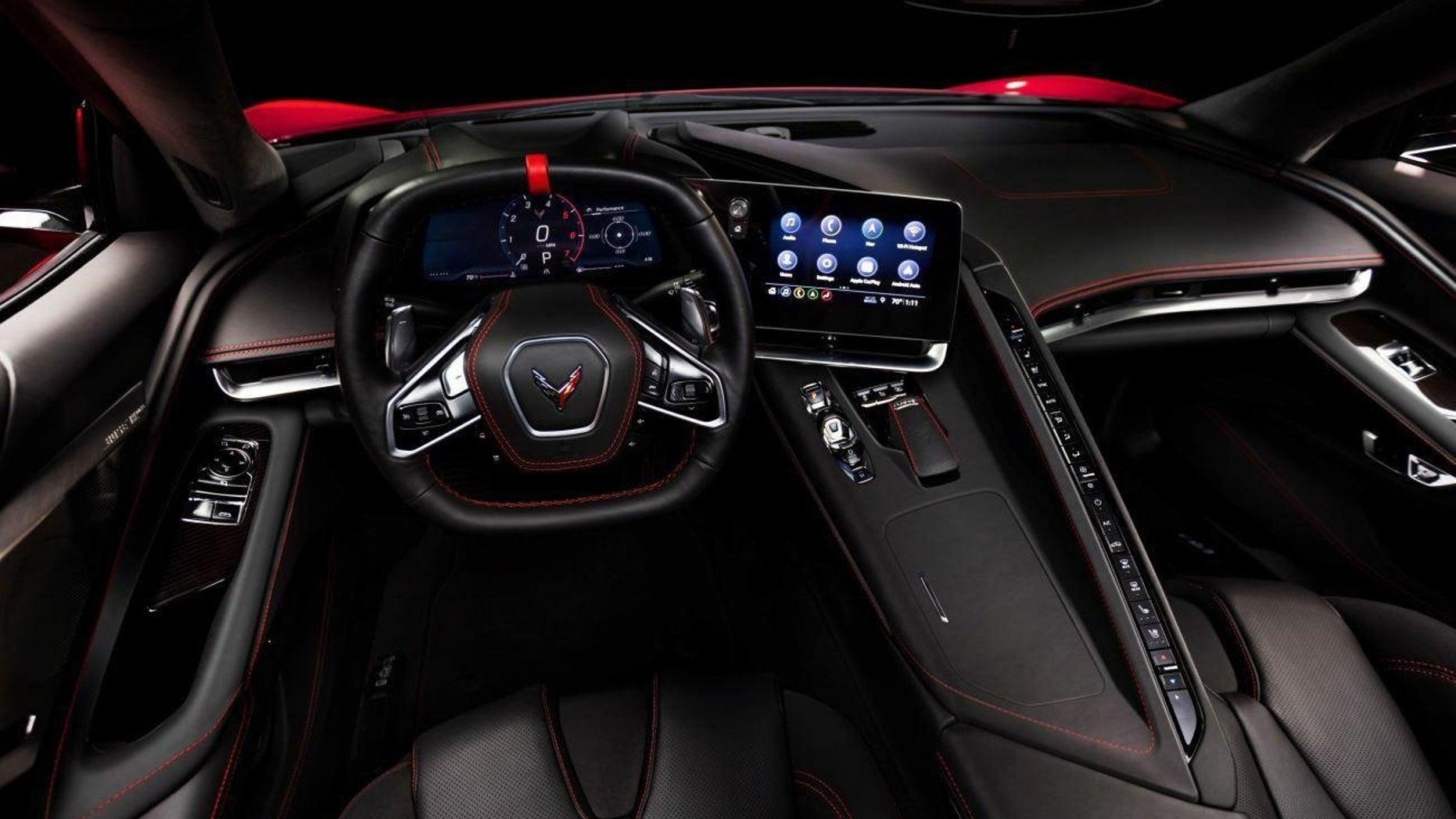 2020 Chevrolet Corvette interior