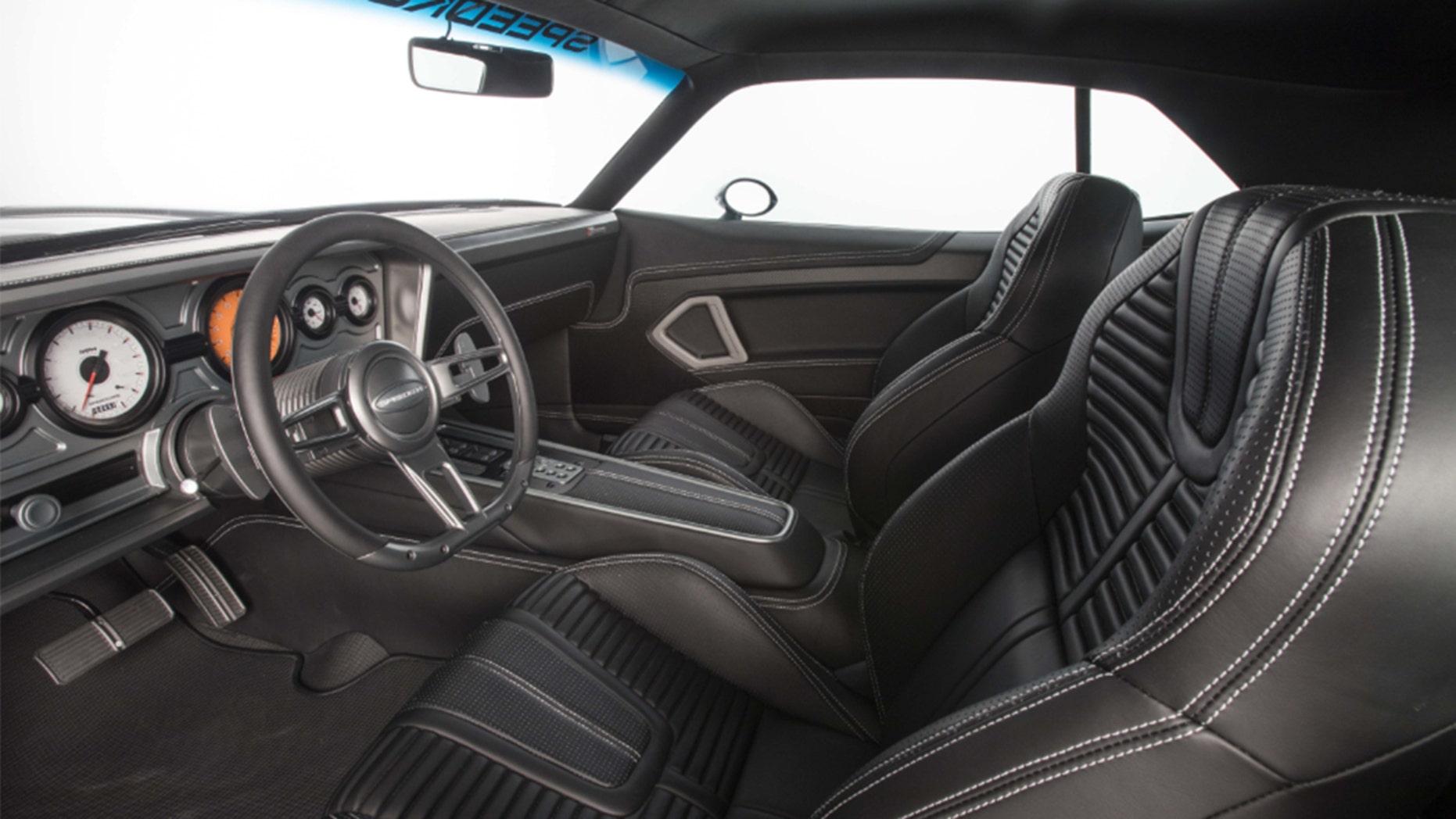 1970 Plymouth Cuda Interior