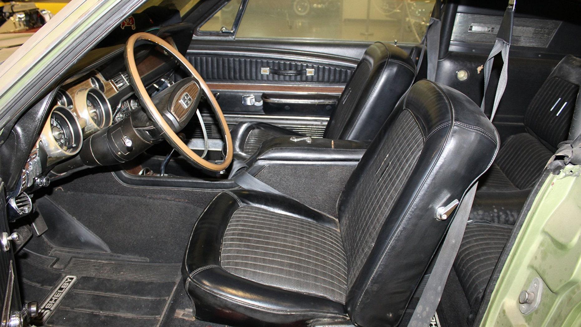 1968 Shelby GT500 interior