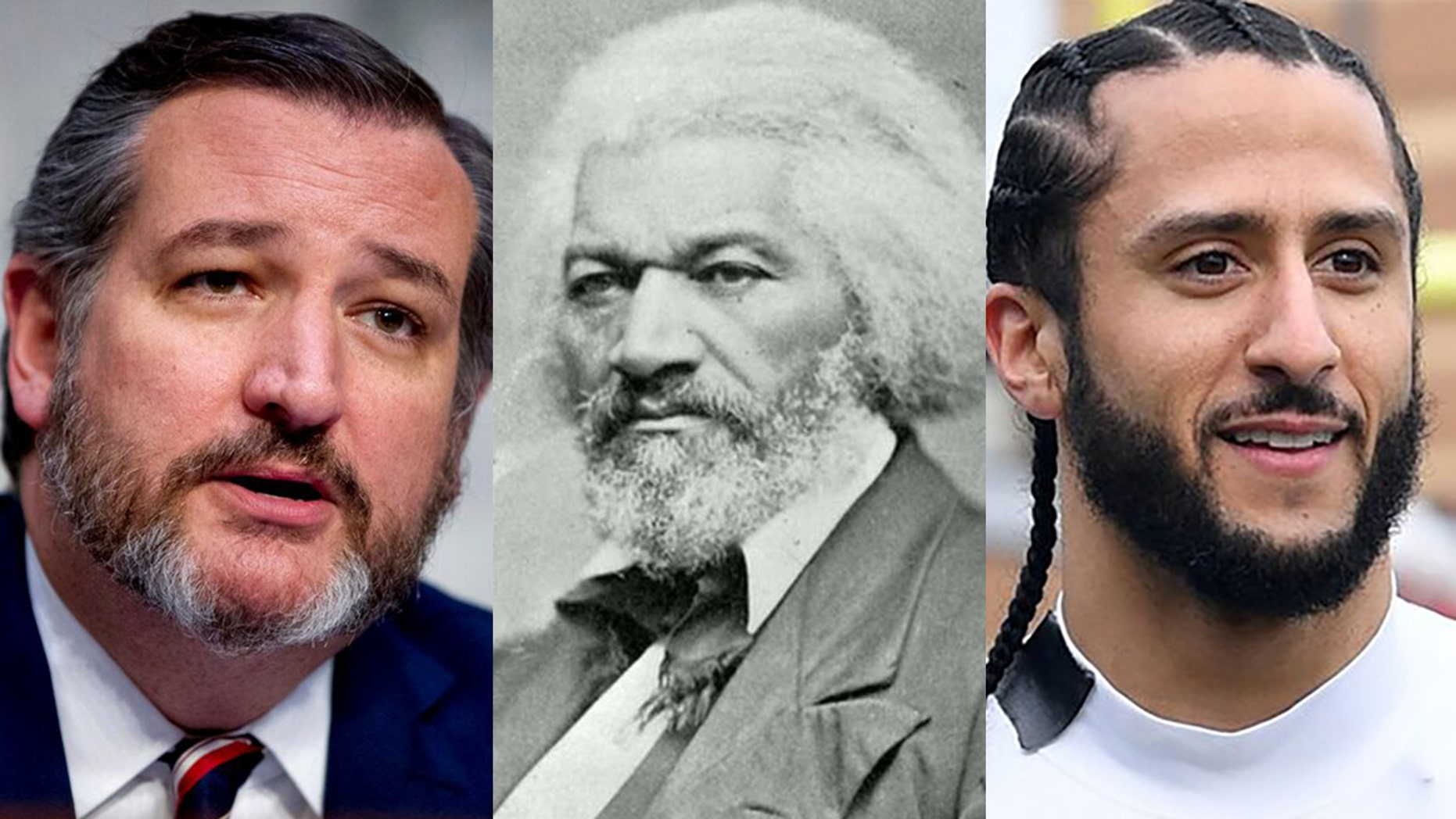 Cruz Adds 'Context' After Kaepernick Quotes From Frederick Douglass 'Fourth of July' Speech Ted-cruz-fred-douglas-colin-kapernick-THUMB
