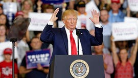 Trump slams progressive congresswomen at fiery 'MAGA' rally in North Carolina