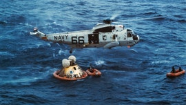 Apollo 11: Former officer on recovery ship USS Hornet recalls watching astronauts' 'amazing' return with President Nixon