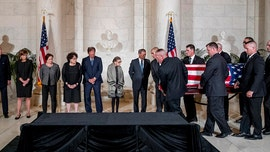 Trump to pay respects to late Justice John Paul Stevens