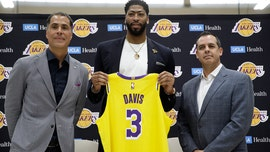 Los Angeles Lakers' Anthony Davis to wear No. 3 jersey after reported issue with Nike