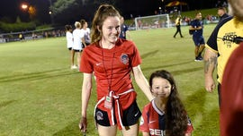 Women's soccer champ Rose Lavelle meets Rose Lavelle: 'Hopefully everyone will forget about old Rose Lavelle'