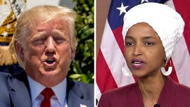 Watch: Ilhan Omar delivers heated, profanity-laced attack on President Trump