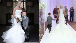 Bride walks down aisle and dances with son who has 'life-limiting' heart defect: 'Literally everyone started crying'