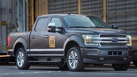 Supertruck? Electric Ford F-150 debuts by towing a train