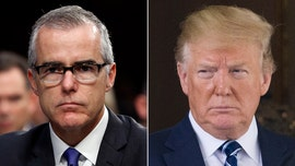 Trump blasts CNN for 'disgraceful' hiring of ex-FBI official Andrew McCabe