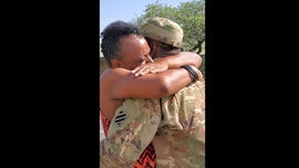 Watch: National Guard soldier surprises mom when he gets home from Afghanistan early: 'My baby's home!'