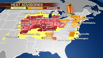 Excessive heat spreads from Plains to East Coast