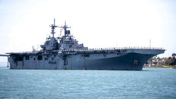 Iran denies claim that US warship destroyed Iranian drone