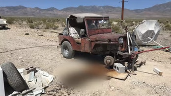 Nevada man died while fixing vehicle after 6.4 earthquake likely caused the car to fall off jack, police say
