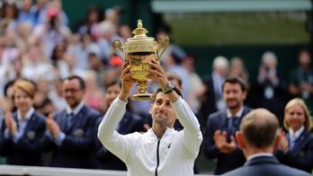 Novak Djokovic beats Roger Federer in epic five-set match to win Wimbledon men's title