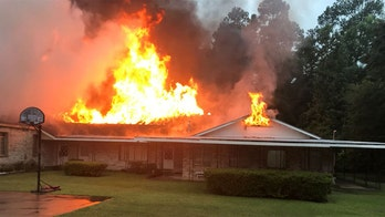 Florida church is 'complete loss' after fire investigators have tied to lightning