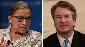 Ruth Bader Ginsburg offers praise to Brett Kavanaugh for hiring all-female staff