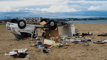 Greece tourist hotspot struck by severe storm, killing 6 and injuring over 100